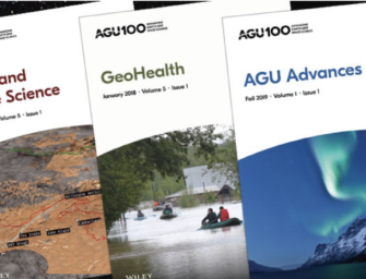 Announcing Four New AGU Journal Editors in Chief